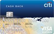 บัตรเครดิตซิตี้แบงก์ แคชแบ็ก แพลตตินั่ม