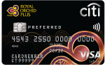 Citibank Royal Orchid Plus Preferred Card