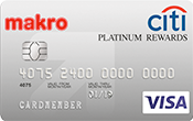 Citi Makro Platinum Rewards Credit Card