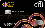 Citi Royal Orchid Plus Preferred Credit Card