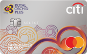 Citi Royal Orchid Plus Select Card