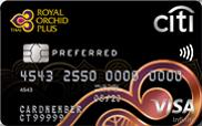 Citi Royal Orchid Plus Preferred Credit Card