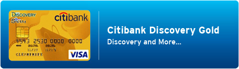 Citibank Discovery Card lets you discover the power of spending and get more with the endless special privileges at Siam Center and Siam Discovery