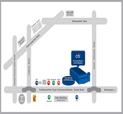 Citibank Location - Citibank Thailand on